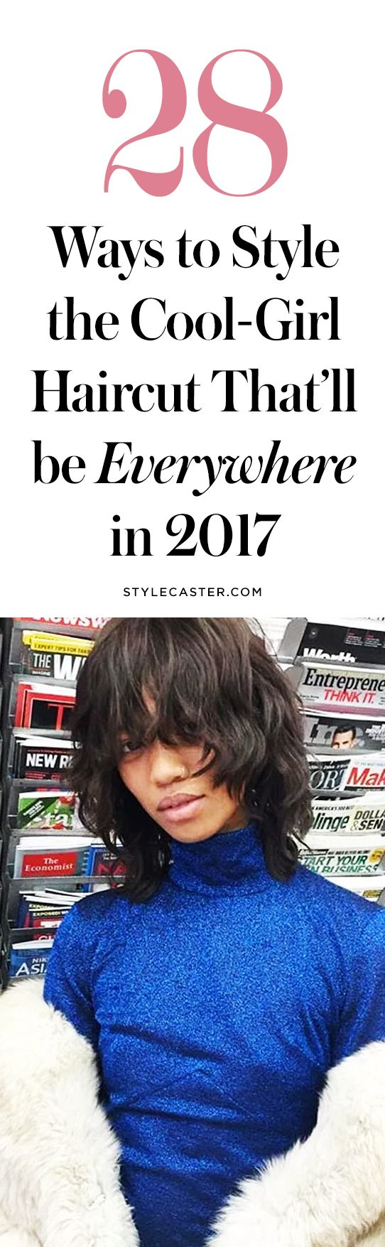28 ways to style the coolest hair trend for 2017 | the bob with bangs | short hairstyle inspo | @stylecaster