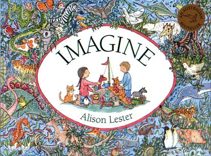 This is one of the most beautiful books ever....the pages take you through different environments with hidden objects galore.