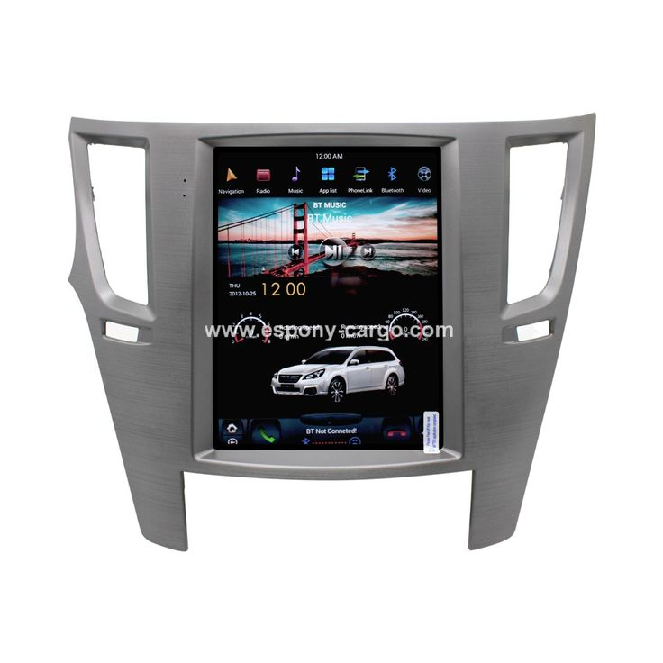 10.4'' Tesla Style Vertical HD Screen Android 6.0 Car GPS  Intelligent Navigation For Subaru Outback 2010 2011 2012 2013 2014