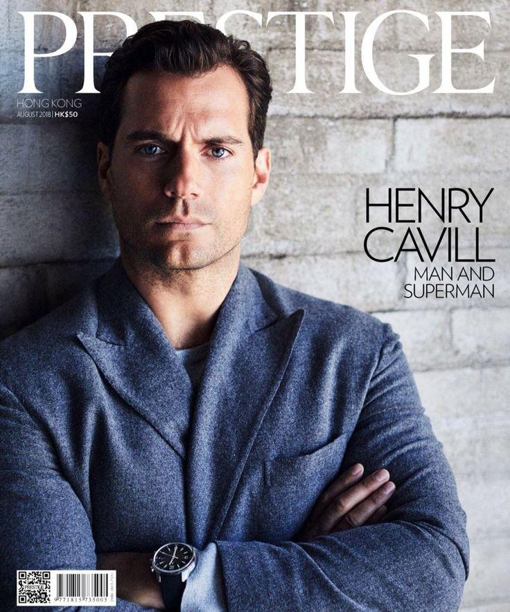 Henry cavill for the prestige magazine henry cavill