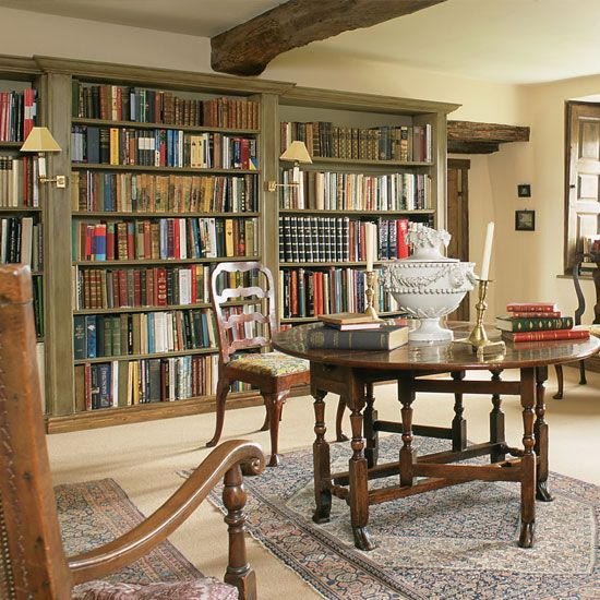Library designs that will leave you lutsing for a novel nest at home