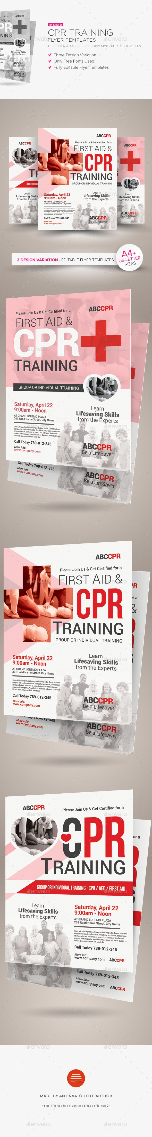 Best 25 cpr training ideas on pinterest cardiopulmonary cpr training flyer templates xflitez Image collections