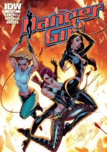 DANGER GIRL, Revolver - Campbell, Hartnell & Madden, bande dessinée érotique