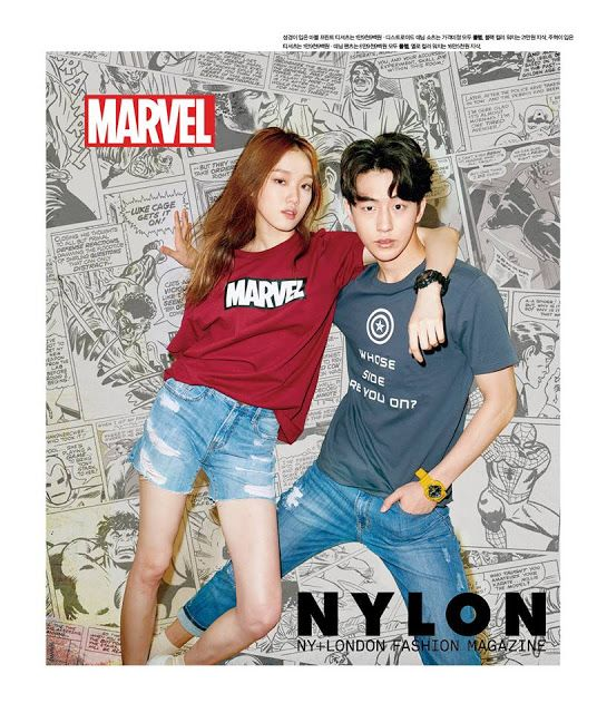 """Nam Joo Hyuk and Lee Sung Kyung Is A Sweet Couple In 'Nylon"""" ~ Daily K Pop News"""