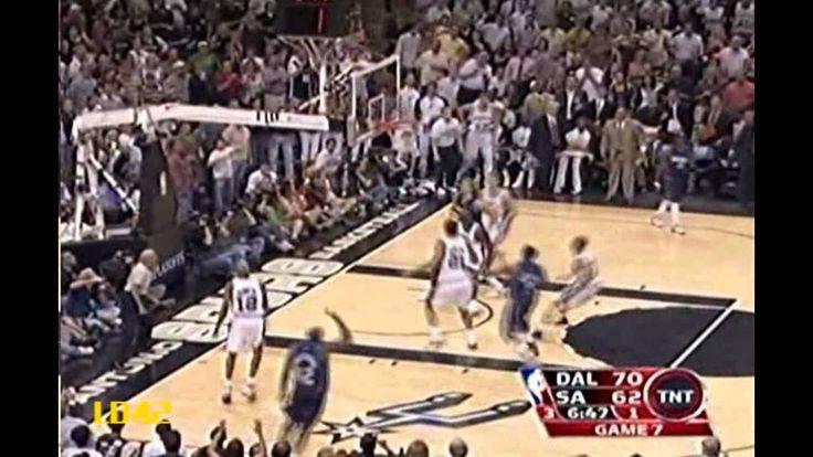 2006 WCSF, Gm 7: Duncan vs. Nowitzki