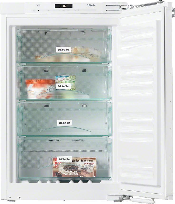 FN 32402 i Einbau-Gefrierschrank mit NoFrost und vier Gefrierschubladen für maximalen Komfort. Keine Vereisung des Gefriergutes, nie wieder abtauen dank NoFrost Optimale und wartungsfreie Ausleuchtung des Innenraums mit LED Gedämpftes Schließen der Tür durch SoftClose Flexible Vergrößerung des Gefrierraums - VarioRoom Schnelles, schonendes Einfrieren von Lebensmitteln - SuperFrost Mehr Produktinformationen  Preis:EUR1.299,00
