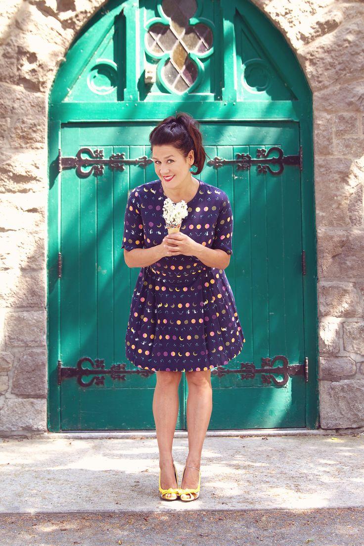 Shooting photo SS16  Robe par Caroline Villamarin  Photographe: Elise Lecomte Photographe Stylisme: Mademoizèle - Stylisme et marketing MUAH: Sailor Jassie Mannequin: Pascale Ouellet