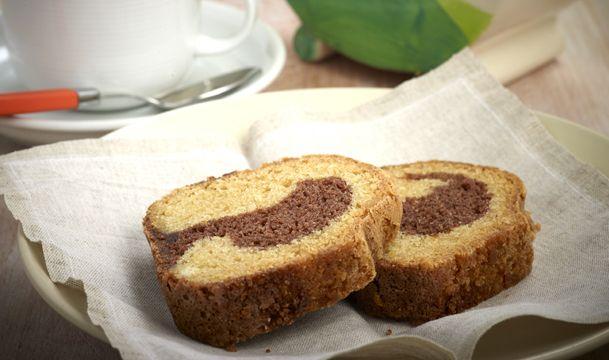 Νηστίσιμο κέικ σοκολάτας και βανίλιας