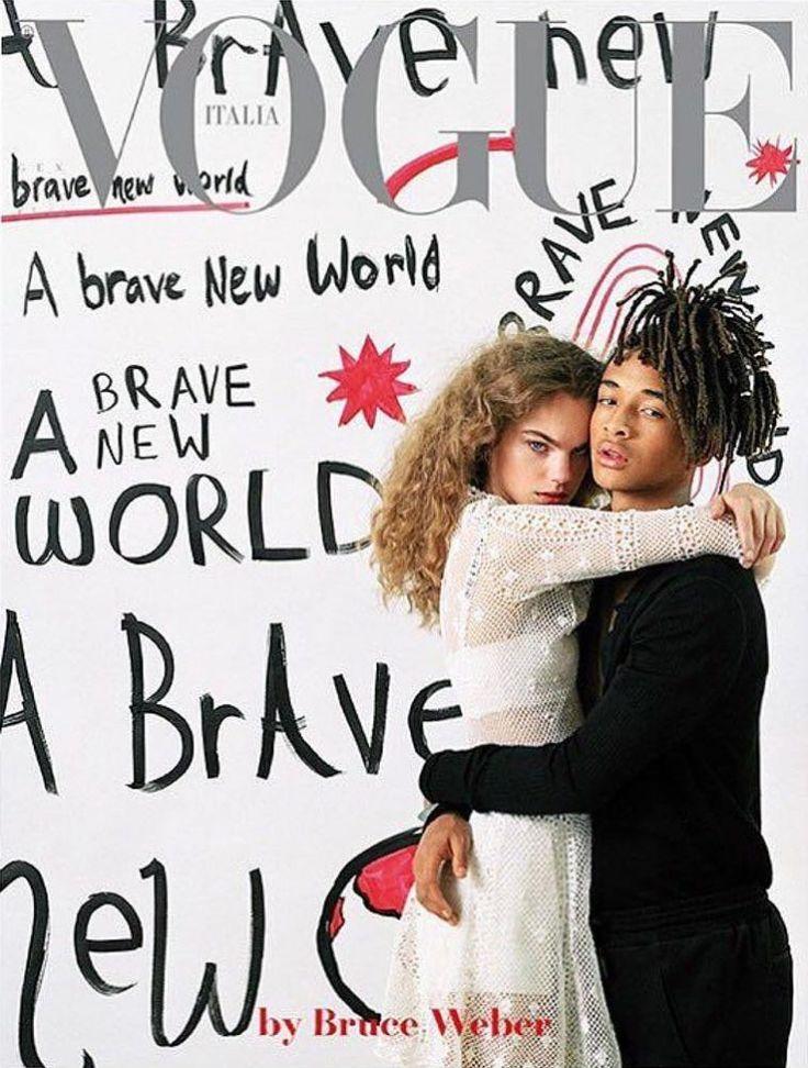 Estella Boersma & Jaden Smith Vogue Italy January 2017