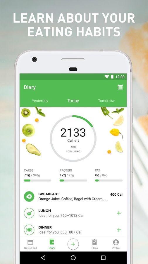 Balance Food Tracker & Calorie Counter App - MaterialUp