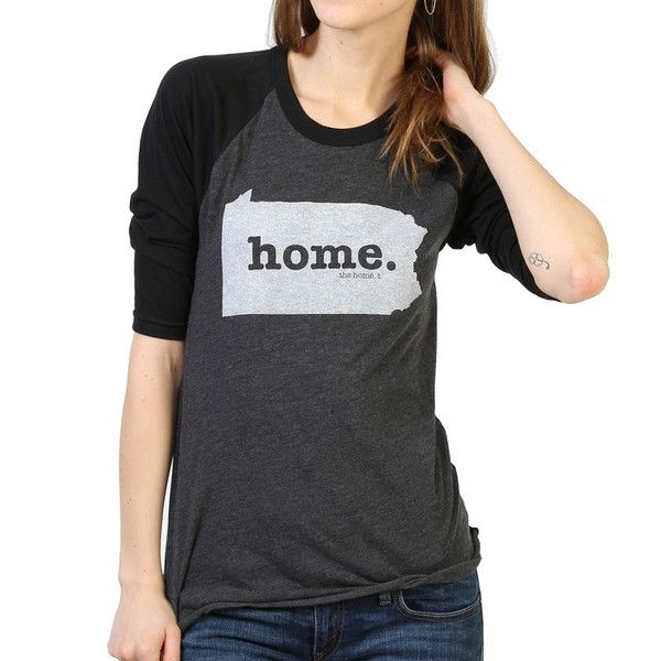 The Pennsylvania Home Baseball T (3/4 length sleeve) isinsanely soft, a great way to show off your state pride, and helps to raise money for multiple sclerosis