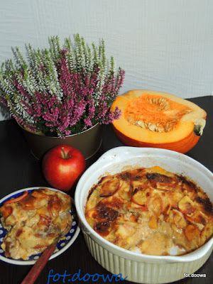 Moje Małe Czarowanie: Clafoutis z jabłkami i dynią