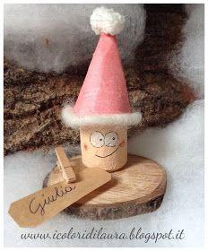 Gnometti segnaposto per il pranzo di Natale