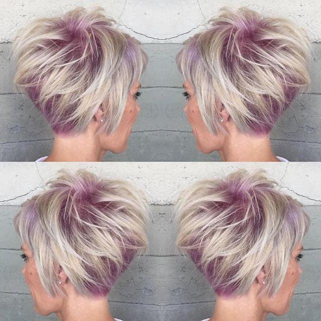10 coupes de cheveux courts pour femmes avec des couleurs vibrantes et un peu de piquant: