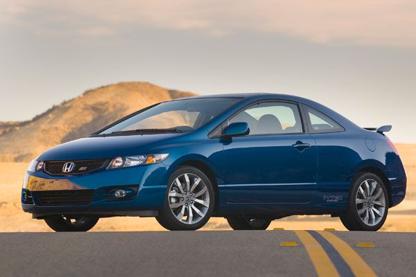 2014 Honda Civic Si Coupe. Preferably a red one, manual transmission, and tinted windows please.