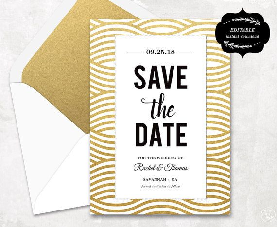 The 25+ Best Save The Date Templates Ideas On Pinterest | Save The