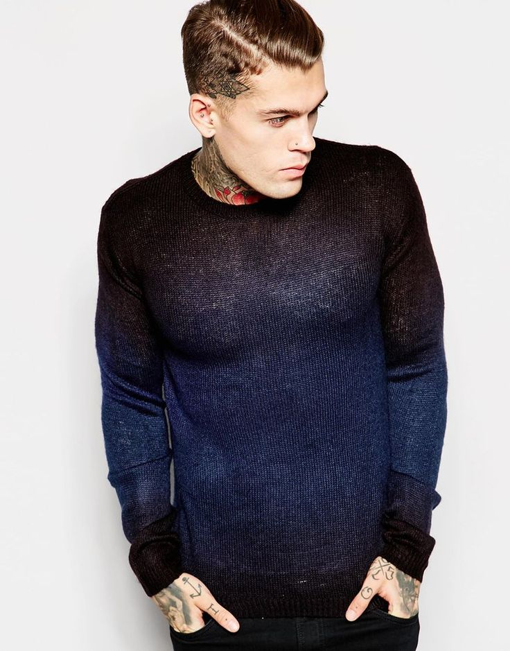 Religion Lightweight Knitted Jumper
