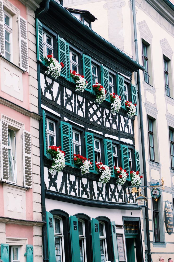Beautiful architecture in Bamberg, Germany