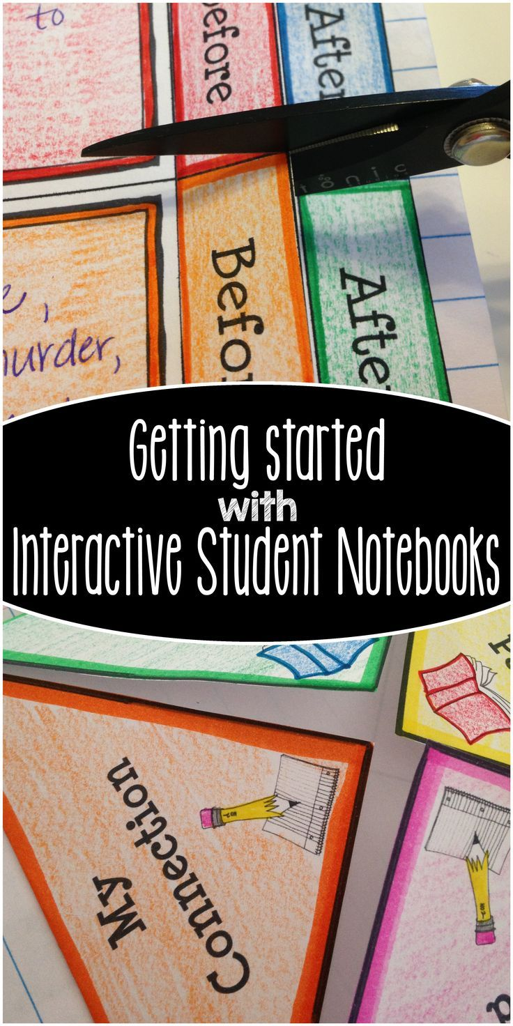 Classroom Notebook Ideas ~ Interactive notebooks a collection of ideas to try about