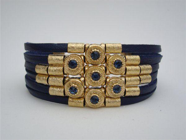 P2092 - Bracelete Marinho