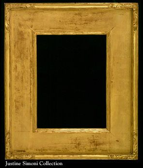 American frame designed and carved by Hermann Dudley Murphy, Carrig-Rohane Shop, Boston. Inscribed and dated 1908 on verso.