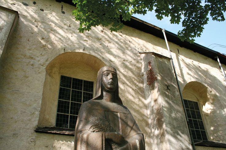 Luostarikirkko eilen & tänään 26.6.-14.8.2017  #naantali #luostari #kirkko #opastus