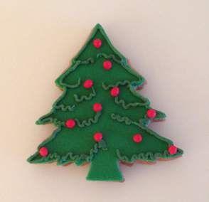 pierniki świąteczne choinka