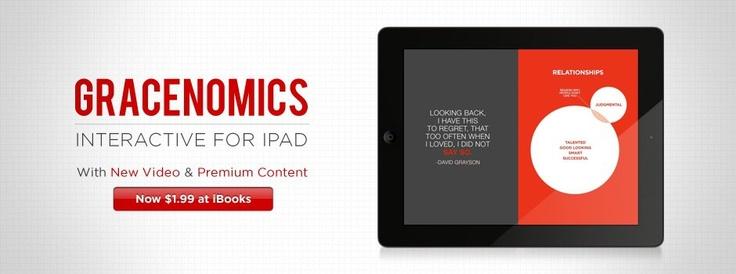 NEW content! Gracenomics Interactive for iPad  http://itunes.apple.com/us/book/gracenomics/id522979033?mt=11