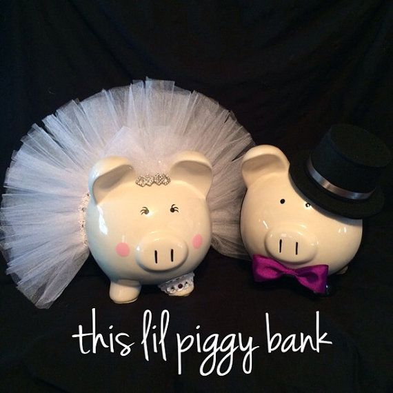 Novia y el novio grandes bancos