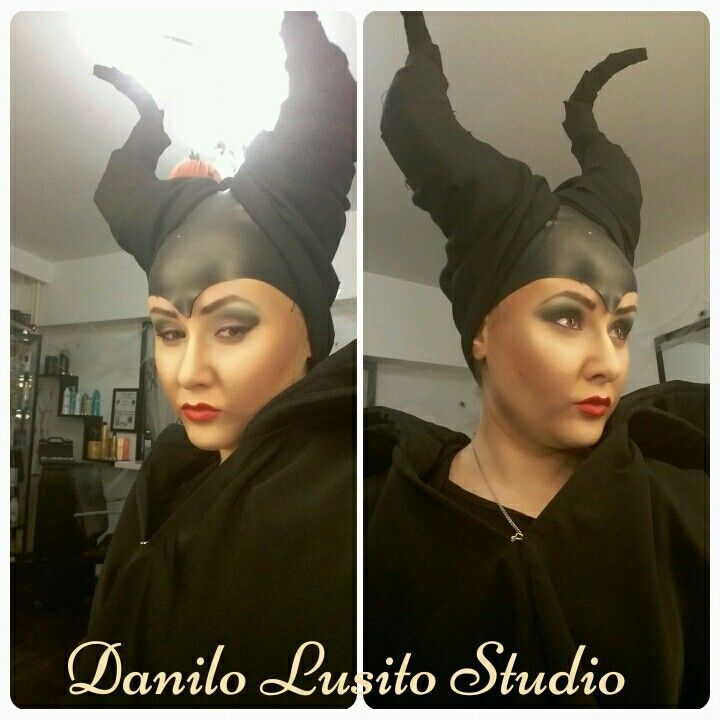#halloween #makeup #party #maleficent #danilolusitostudio