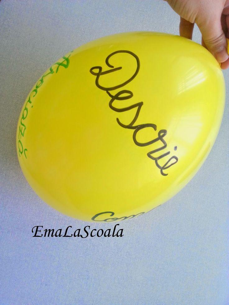 Ema la scoala: Metoda cubului cu un balon