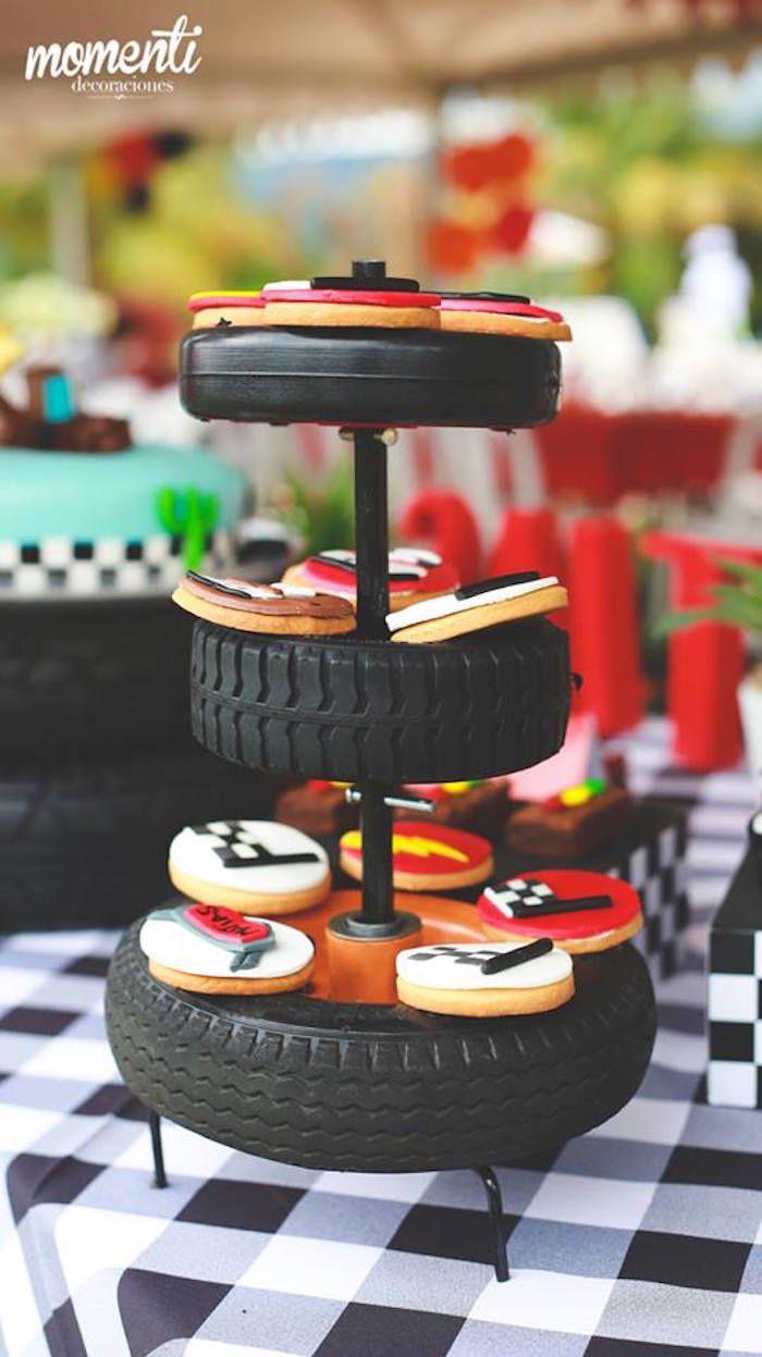 Cookies from a Disney Cars Birthday Party via Kara's Party Ideas | KarasPartyIdeas.com (17)