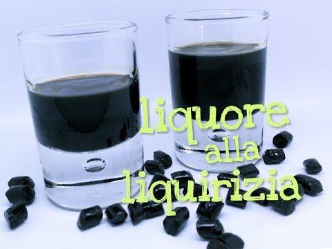 ▶ LIQUORE ALLA LIQUIRIZIA FATTO IN CASA DA BENEDETTA - Homemade licorice liqueur - YouTube
