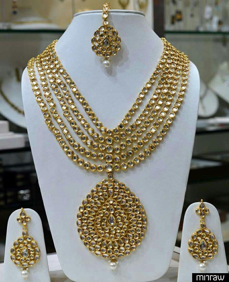 155 best Kundan Jewellery images on Pinterest | Jewelry necklaces ...