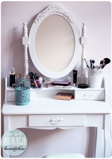 Alina Rose Makeup Blog: Toaletka, organizacja kosmetyków. Ulubione produkty.