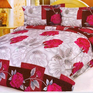 Double Bed Sheet With 2 Pillow Covers - Rs. 599
