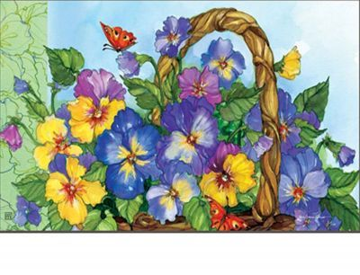 112 Best Spring Welcome Mats Images On Pinterest Doormat