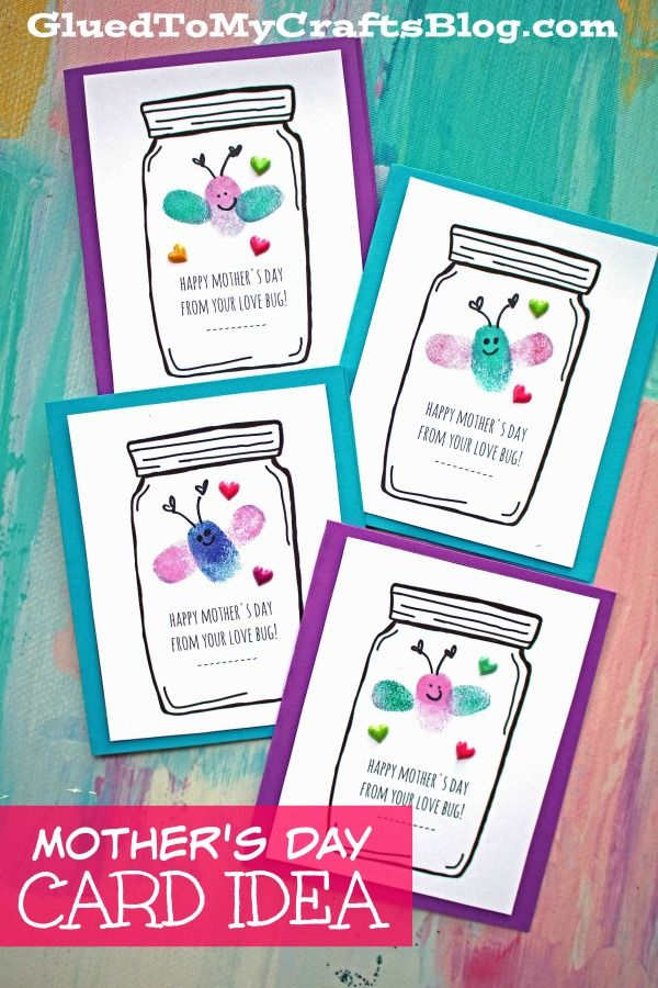Mother's Day Love Bug Cards - Kid Craft in 2020 | Mothers day cards, Mothers  day crafts, Mothers day crafts for kids