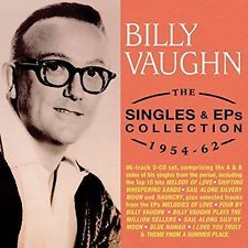 VAUGHN, BILLY-The Singles & EPs Collections 1954-62 (3CD) CD NEW