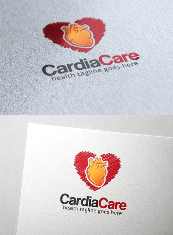 Cardiac Care Logo Clinic Design Care Logo Dinners For Kids