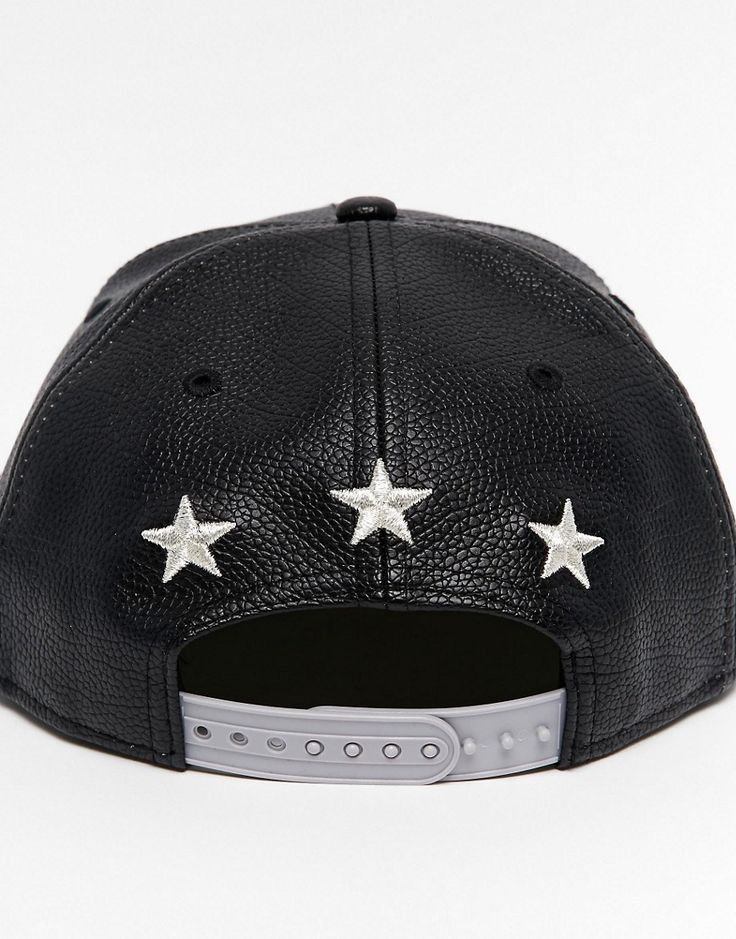 New Era Бейсболка New Era Leather 9Fifty NY на ASOS