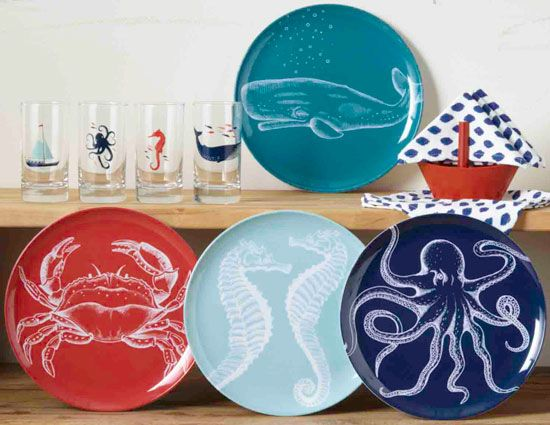 Nautical Kitchen Beach House Decorating Ideas