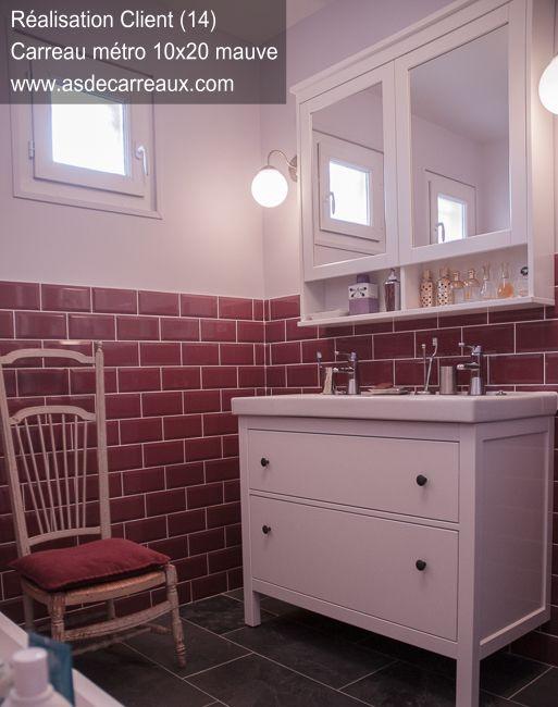 inspiration des ralisations ambiances de nos clients carrelage faience salle de bain - Carrelages Brun 70s Salle De Bains
