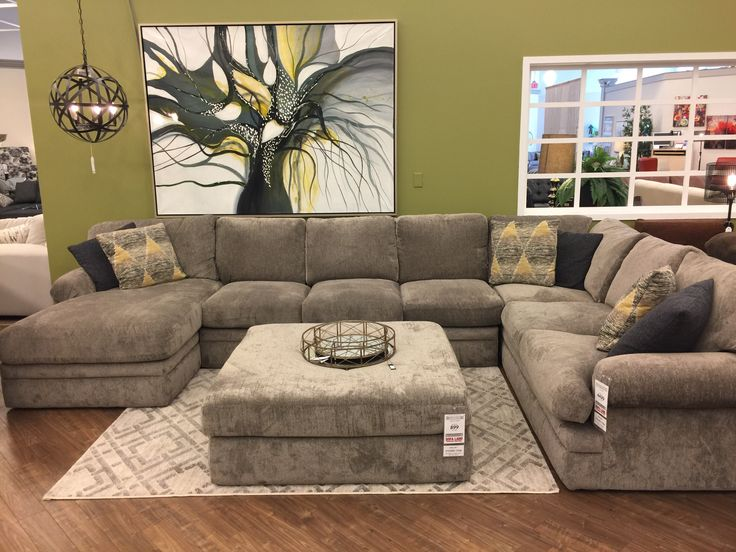 This is the sectional that you deserve to sink into after a long hard day!  www.sofaland.ca/harborcrossing