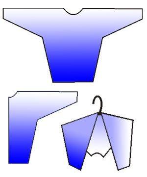 Вешаем на плечики по-хитрому / Организованное хранение / Своими руками - выкройки, переделка одежды, декор интерьера своими руками - от ВТОРАЯ УЛИЦА