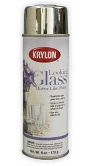 mercury paint looking glass spray paint krylon looking glass chrome. Black Bedroom Furniture Sets. Home Design Ideas