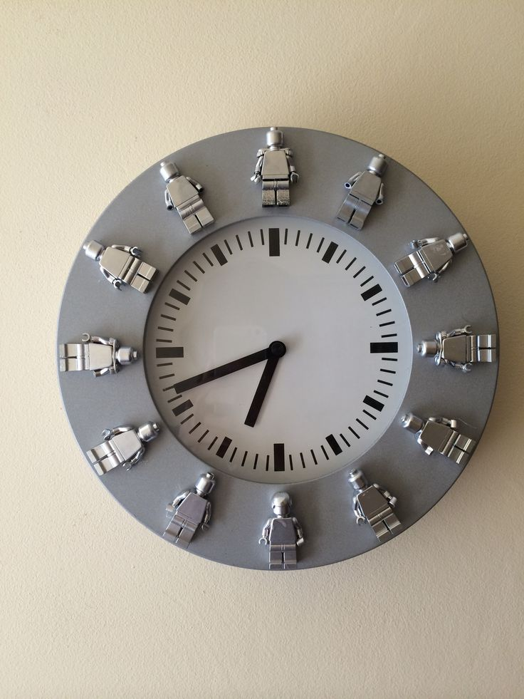 lego brick clock instructions