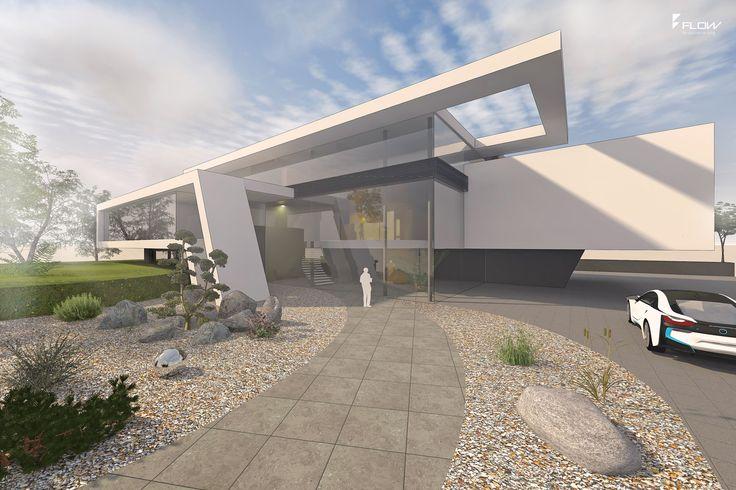 18 best moderne b rogeb ude images on pinterest new construction contemporary design and flow - Flow architektur ...