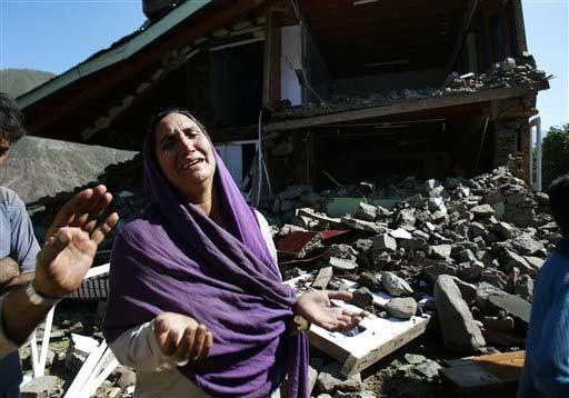 kashmir earthquake october 8th 2005. Kashmir earthquake kills over 80,000