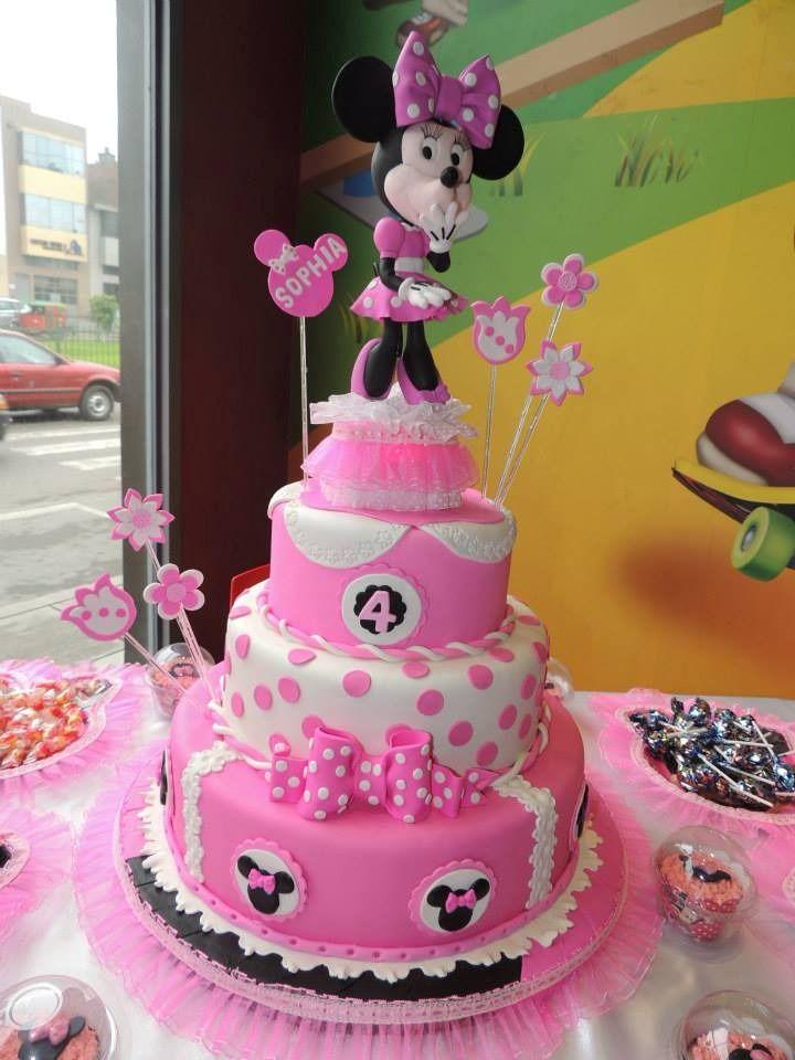 Tortas De Minnie Buscar Con Google Minni Pinterest